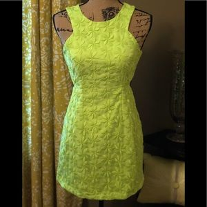 Sabo Skirt Midi Dress (Neon)